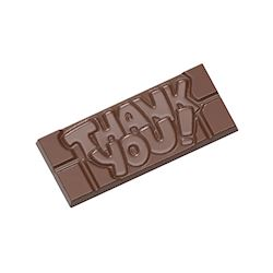 Chocoladevorm tablet Thank you