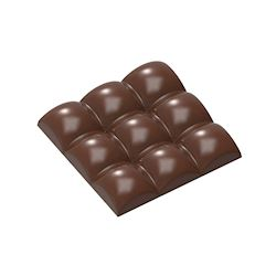 Chocoladevorm tablet square sphere